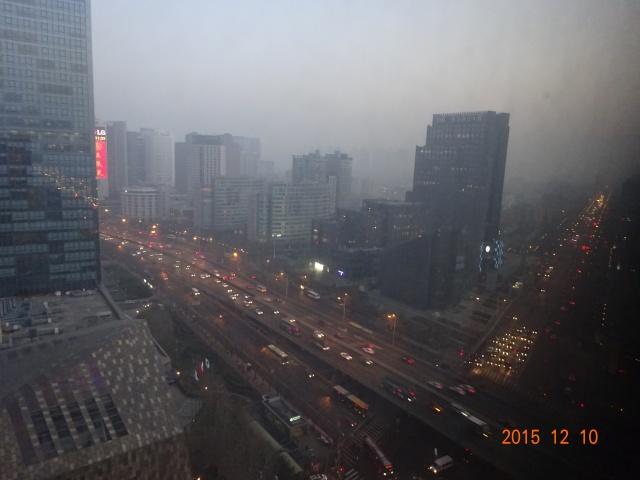 北京の夕方